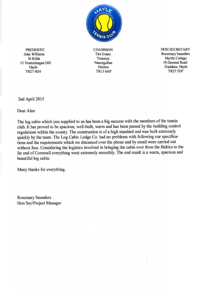 hayle-appraisal-letter